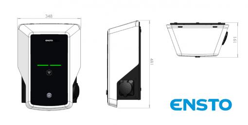 ENSTO EVB100 single socket