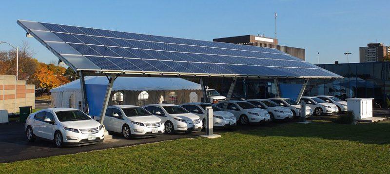 Green energy ev charging